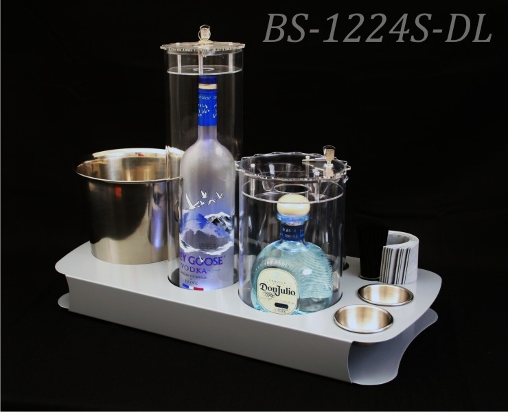 Locking bottle service BS-1224S-DL