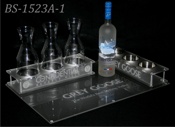 Grey Goose branded bottle service