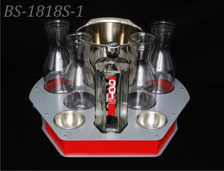 Metal bottle service BS-1818S-1