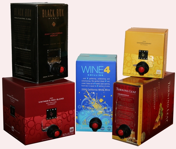 boxed wine box