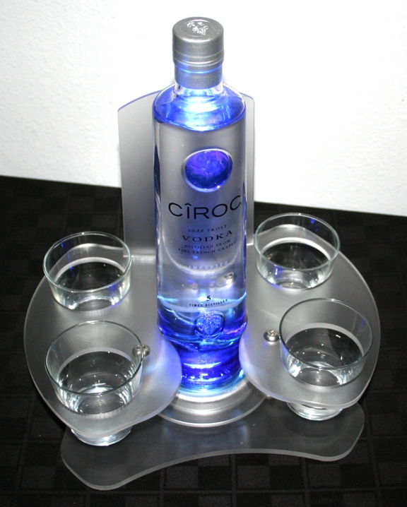 ciroc bottle service party bomber newcraft vodka